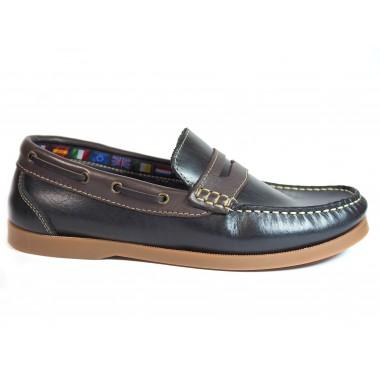Zapatos La Valenciana 1694 Marino