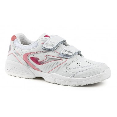 Zapatillas Joma School 613 Blanco-Rosa