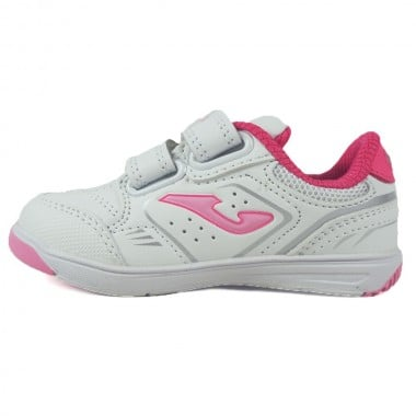 Zapatillas Joma Otto Jr 913 Blanco-Rosa