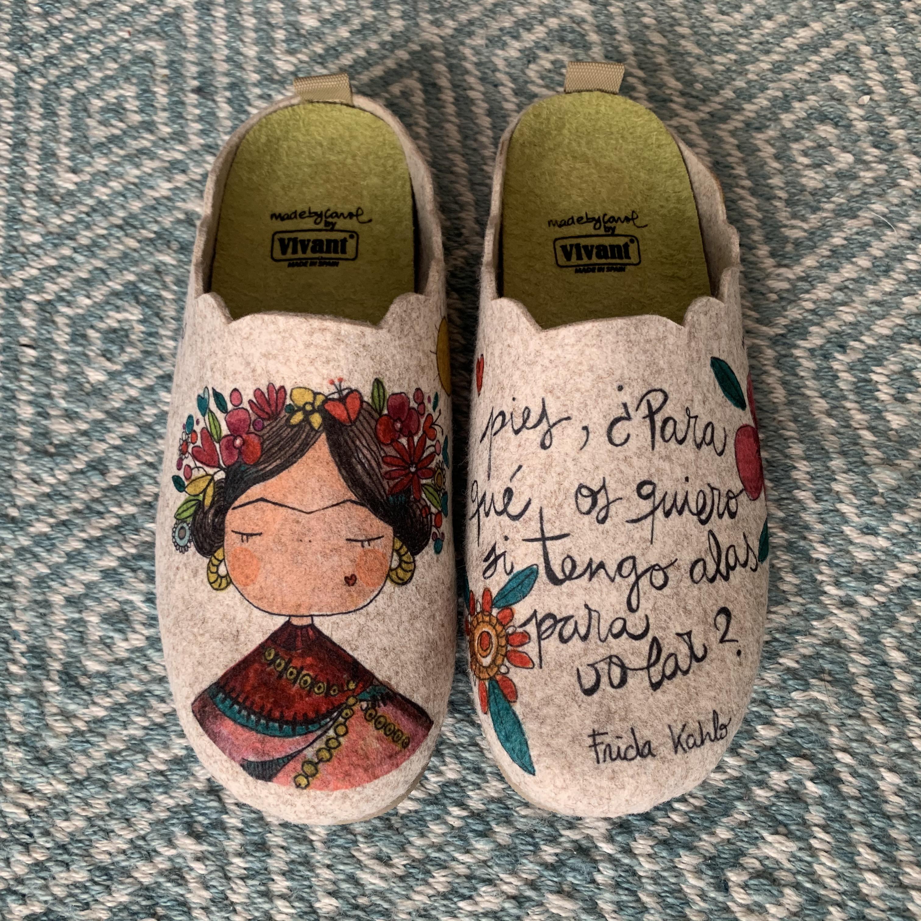 Zapatillas Frida Vivant