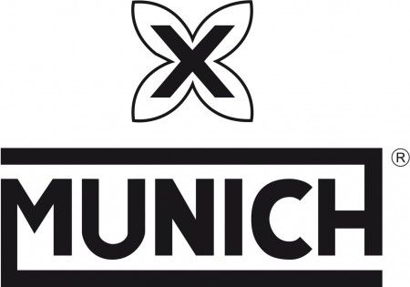 logo zapatillas Munich