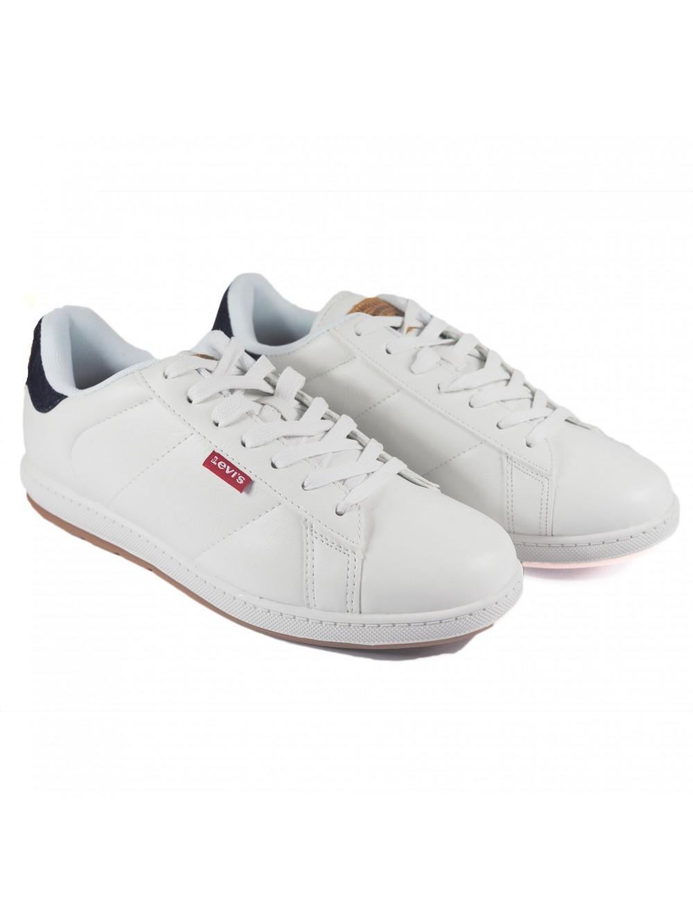 zapatillas Levis blanca