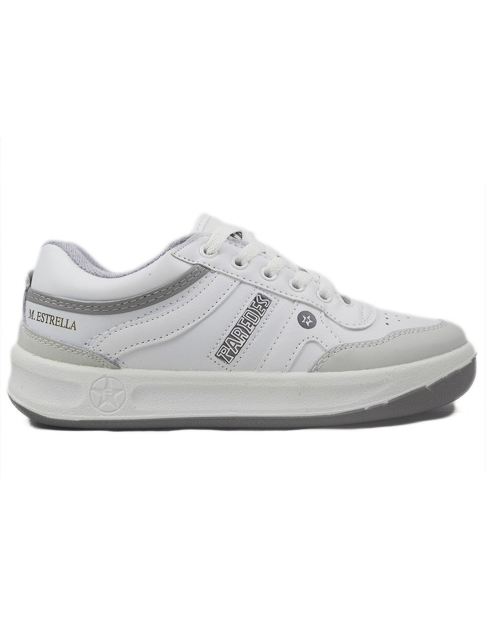 zapatillas Paredes blancas