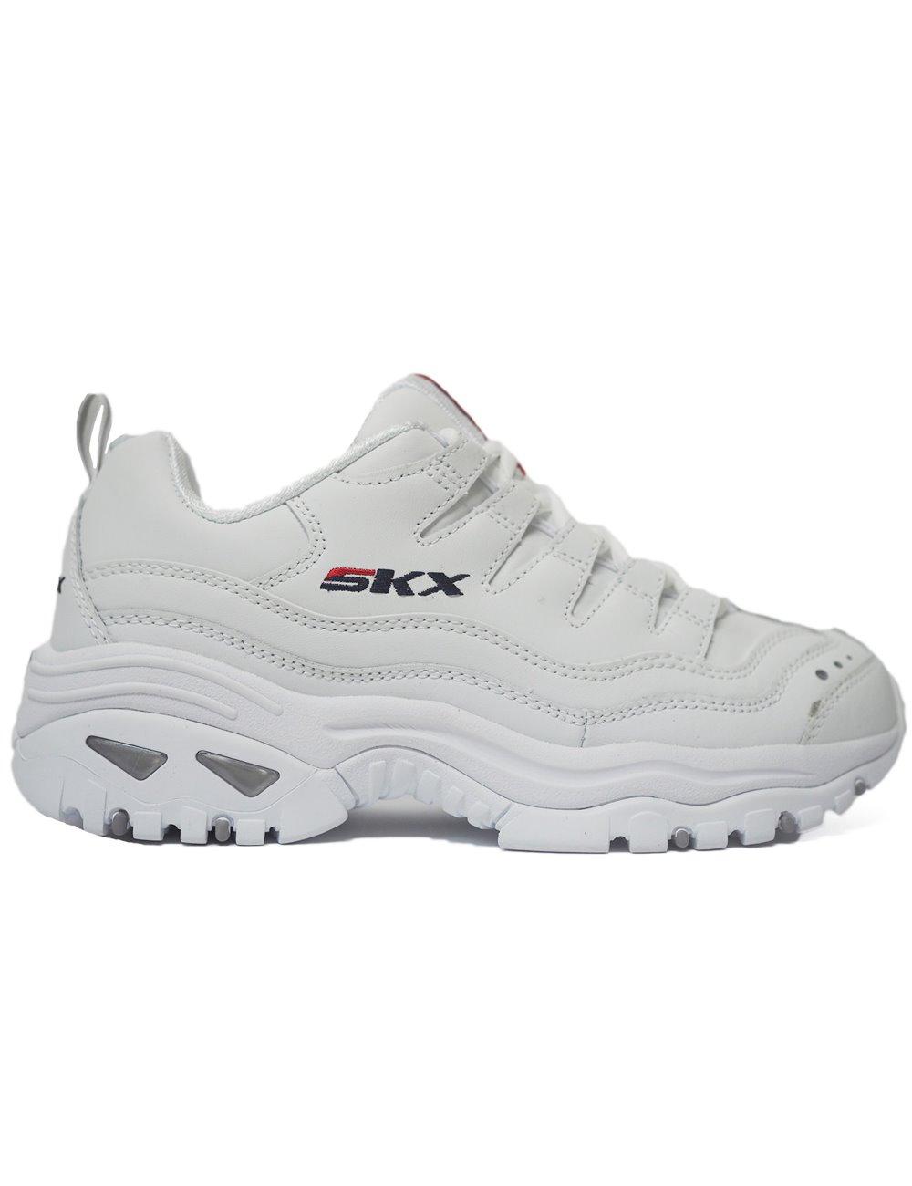 zapatillas Skechers blancas