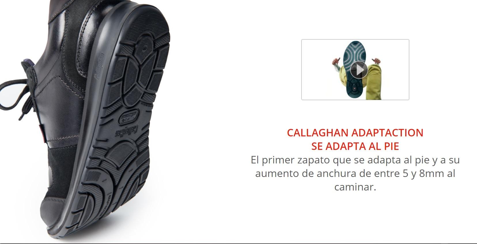 zapatos Callaghan Adaptaction cómodos
