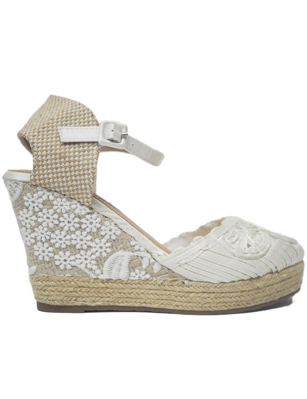 Cuñas Novia Mandarina Shoes