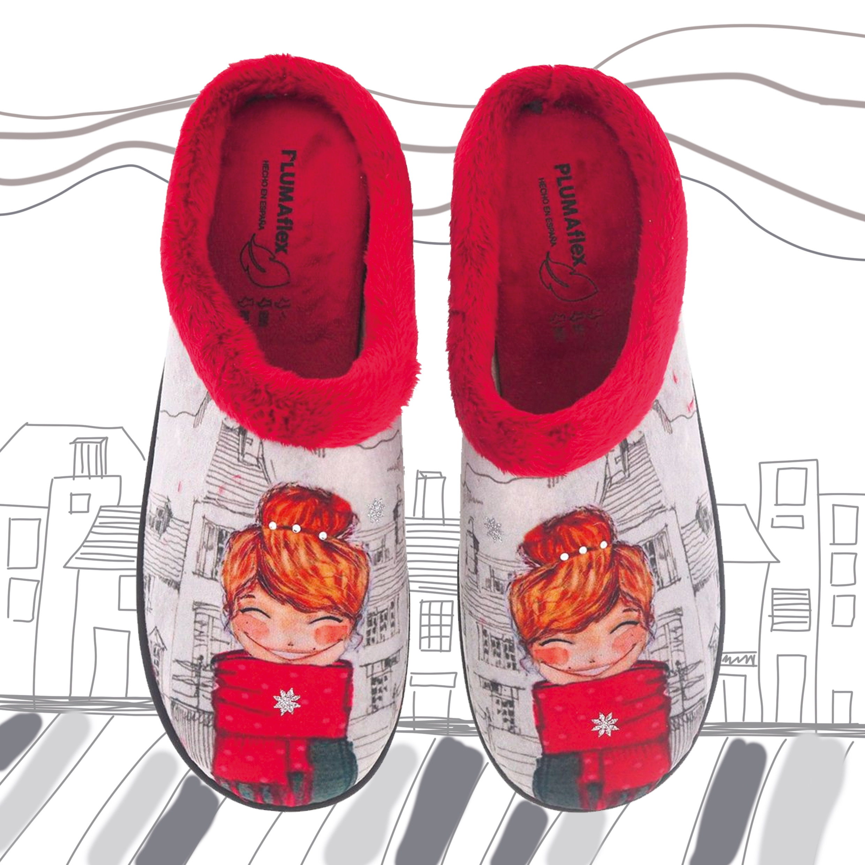 zapatillas de casa Plumaflex Roal